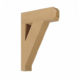 BKT18X18X3X1S Faux Timber Brackets & Corbels