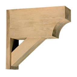 BKT21X20X6S Faux Timber Brackets & Corbels