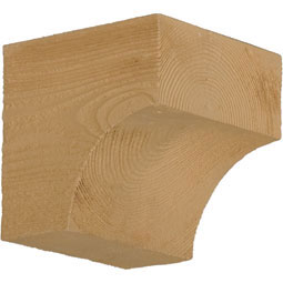BKT5X5X3S Faux Timber Brackets & Corbels