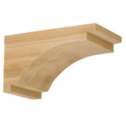BKT7X13X7S Faux Timber Brackets & Corbels