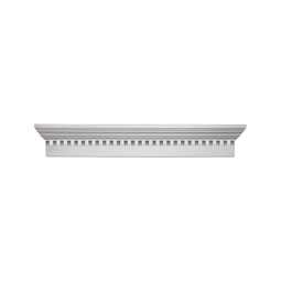 "WCH37X6D Fypon 6"" Crossheads w/Dentil Trim"
