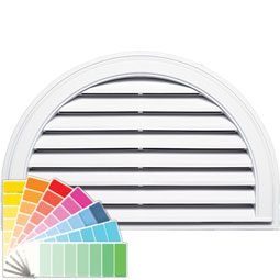 00432234 Vinyl Gable Vents