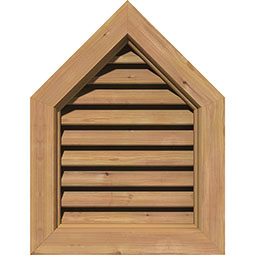 GVWPE Wood Louvers and Gable Vents