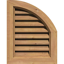 GVWQR Wood Louvers and Gable Vents