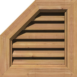 GVWOL Wood Louvers and Gable Vents