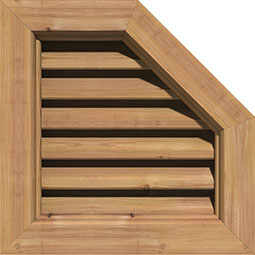 GVWOR Wood Louvers and Gable Vents