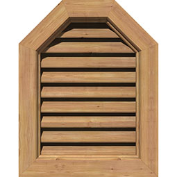 GVWOT Wood Louvers and Gable Vents