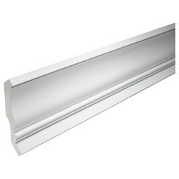 "10 3/8""H x 5 5/8""P, 12' Length, Crown Fascia Moulding"