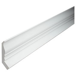 "7 7/32""H x 5 3/4""P, 12' Length, Crown Fascia Moulding"