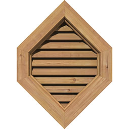 GVWVP Wood Louvers and Gable Vents