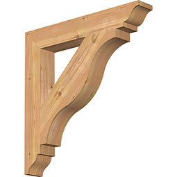 Funston Rustic Timber Wood Bracket