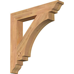 Imperial Rustic Timber Wood Bracket