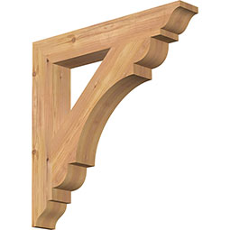 Olympic Rustic Timber Wood Bracket