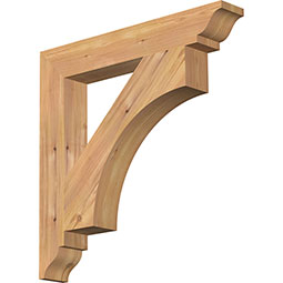 Westlake Rustic Timber Wood Bracket