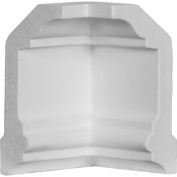 MIC04X02HO Crown Moulding Blocks & Corners