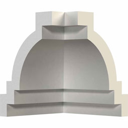 MIC03X04TR Crown, Cove & Cornice Moulding