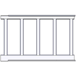 RCW-60 Wainscot Components & Accessories