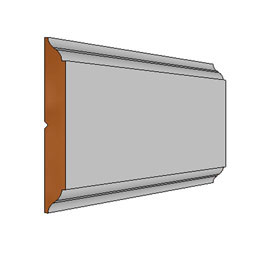 RC-STILE-96 Wall Panel Wainscot Paneling