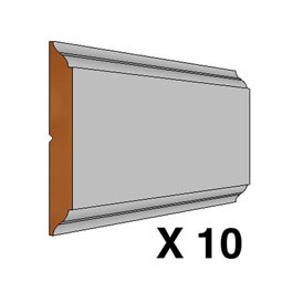 RC-STILE-96-10 Wainscot Components & Accessories