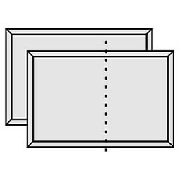 RP-46X24-2X-PG Raised Panel Wainscot Paneling