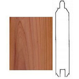 C-1X4-R Wainscot Components & Accessories