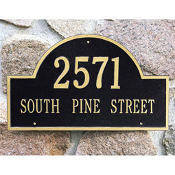 WH1002 Address Plaques