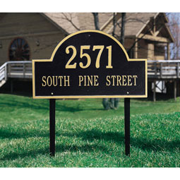 WH1102 Address Plaques