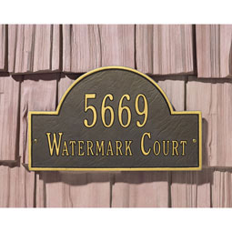 WH1004 Address Plaques