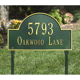 WH1106 Address Plaques