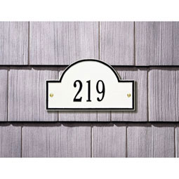 WH1007 Address Plaques