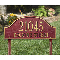 WH1241 Address Plaques
