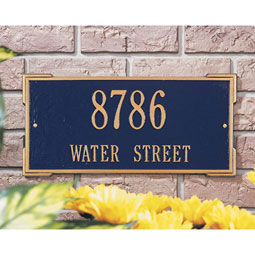 WH1022 Address Plaques