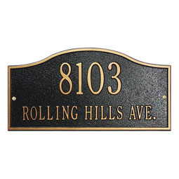 WH1118 Address Plaques