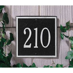 WH2109 Address Plaques