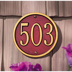 WH1034 Address Plaques