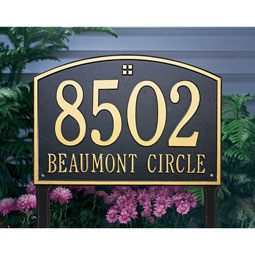 WH1174 Address Plaques