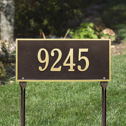 WH1324 Address Plaques