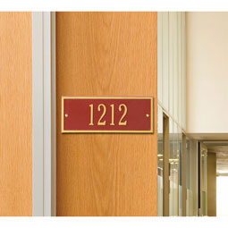 WH1329 Address Plaques