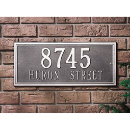 WH6107 Architectural Plaques