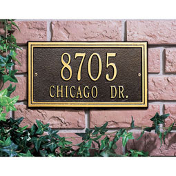 WH6131 Architectural Plaques