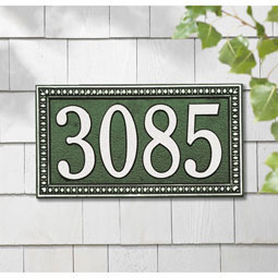WH6102 Architectural Plaques