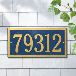 WH1342 Address Plaques