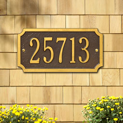 WH1499 Address Plaques
