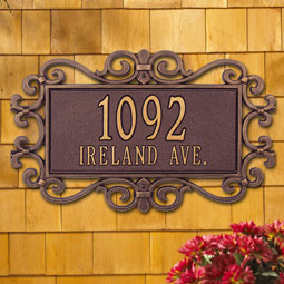 WH5521 Address Plaques