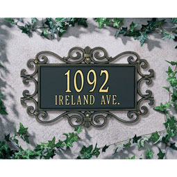 WH5518 Address Plaques