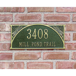 WH3026 Address Plaques
