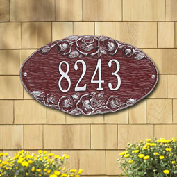 WH4005 Oval Plaques