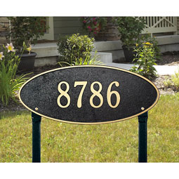WH4011 Oval Plaques
