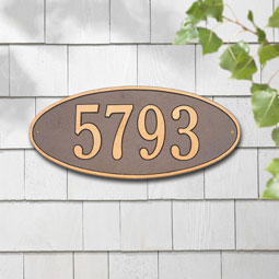 WH4003 Address Plaques