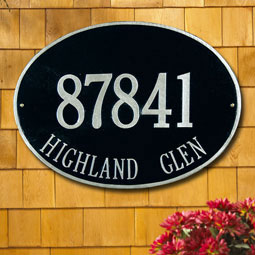 WH2927 Oval Plaques